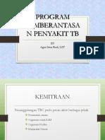 Pemberantasan Prog Pemb Peny TB