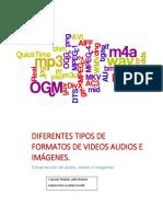Diferentes Tipos de Formatos de Videos, Audio e Imegenes