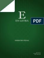 En Letra Derecho Penal Numero 3 2016