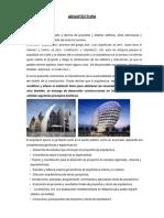 Planos y Signos Arquitectura