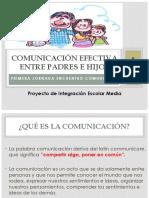 Comunicación Efectiva Entre Padres e Hijos