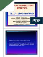 Chapter 12 (WTA) - Horizontal Well Test Analysis (D. Tiab)