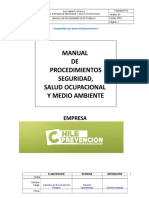 MANUAL CON 30  PROCEDIMIENTOS DE TRABAJO SEGURO 2015.doc