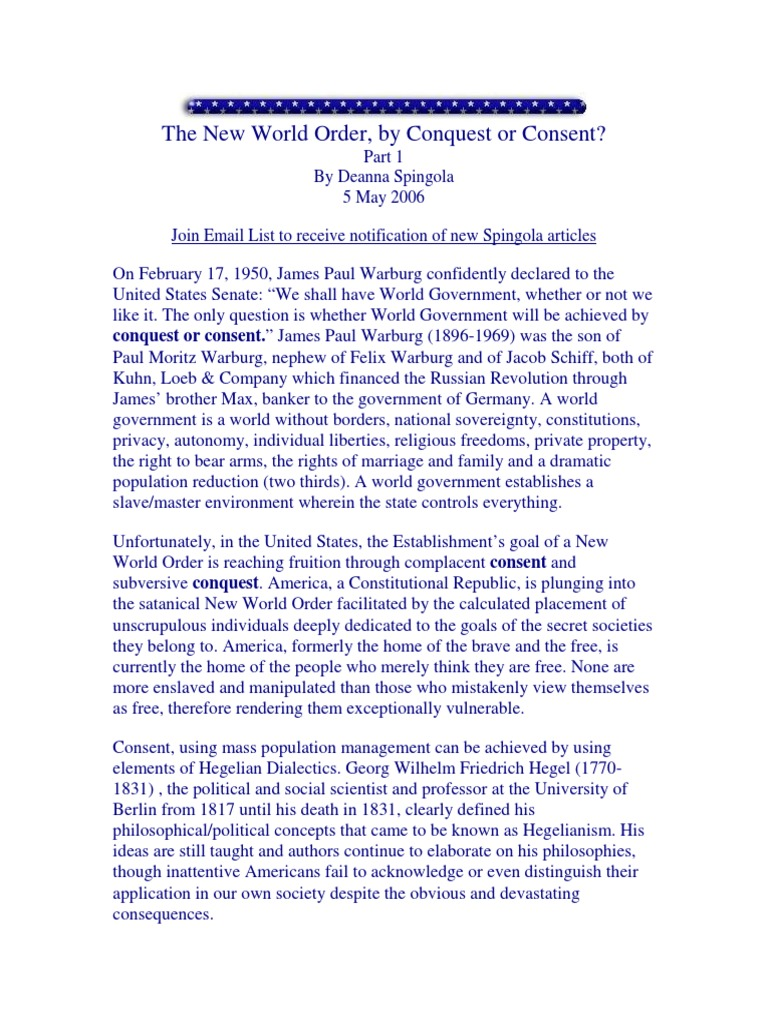 12758021-The-New-World-Order-by-Conquest-or-Consent pdf