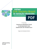 1 Colocado Premio CFA Society Brazil 2017