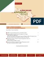 Caucasus Analytical Digest 102