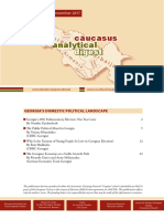 Caucasus Analytical Digest 100