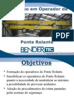 Formação Operador de Ponte Rolante