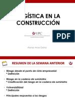 Logística en La Construcción