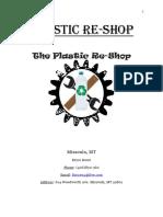 Plastic Re Shop Business Plan