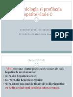 Epidemiologia Si Profilaxia Hepatite Virale C