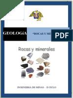 Geologia - Rocas