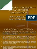Capitulo Ix. Variacion de Caracteres Cuantitativos