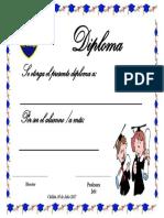 Diploma 5° a 7°