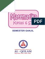 Matematika 6 SD Sem 1