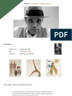 Presentación Joseph Beuys PDF
