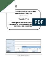 T-10 Mantenimiento y Puesta en Operación de Compresores y Sus Equipos de Control