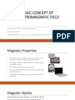 Basic Concept of Electromagnatic Field Ppt 1
