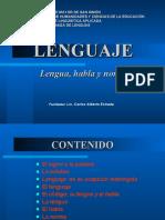 Diferencias de Lenguaje Lengua Habla y Norma