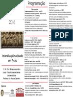 III Encontro de Pesquisadores Do ATRIVM 20161