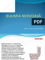 CURS 4. 5. Bolile Metabolice. Bulimie