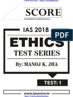 Ethics Test Series