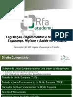 Legislação, Regulamentos e Normas (Parte 1)