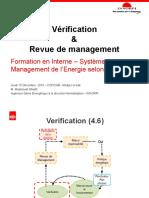 07 - Vérification & Revue de Management