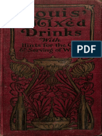 (1906) Souis Muckensturm, Souis´ mixed Drinks with hints for the Care and serving of wines.