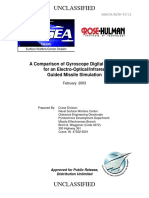 a411726 - A Comparison of Gyroscope Digital Models for an Electro-Optical - Infrared Guided Missile Simulation