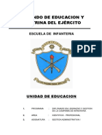 Contenido de La Unidad de Educacion Gestion Administrativa i