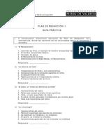 Guía Plan de Redacción II