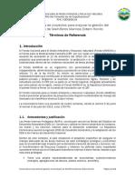 Convocatoria Proyectos Mejorar La Gestin Del Santuario de Mamferos Marinos Estero Hondo. Version Final