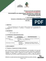 Arq 822 Procedimento Manutencao Corretiva Preventiva