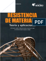 Resistencia de Materiales - Luis Eduardo Gamio Arisnabarreta. Ed Macro