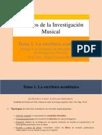 Tema 1. La Escritura Académica (29!09!2016)