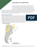 Economías Regionales en Argentina