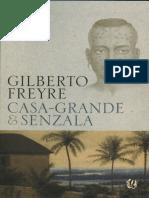 Livro Casa Grande & Senzala Gilberto Freire