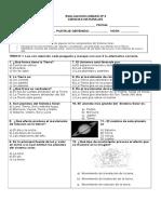 Evaluacion Tercero Ciencias Adecuacion
