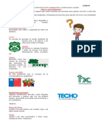 1° básico Instituciones chilenas