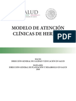 Modelo Atencion Clinicas Heridas