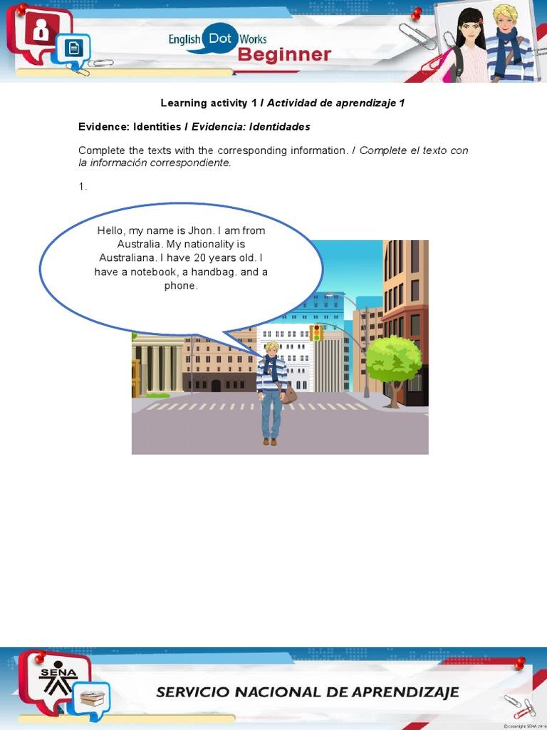 Evidence Identities Teachers Students