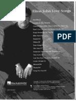(Sheet Music) - Elton John - Love Songs (Book).pdf