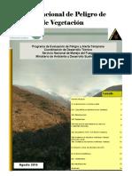 Informe Nacional de Peligro de Incendios de Vegetacion