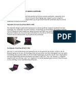 Nieuwe notebooks van Packard Bell
