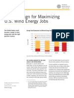 Factsheet Policy Design for Maximizing Us Wind Energy Jobs