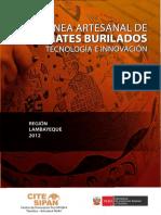 22 Línea Artesanal de Mates Burilados 2012