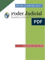 Rendición de Cuentas Poder Judicial 2019