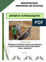 ESTUDIO HIDROLÓGICO - HUALLHUAYOCC