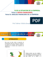 Analisis Financiero Ratios